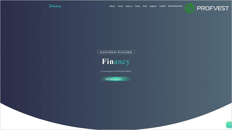 Financy обзор и отзывы HYIP-проекта