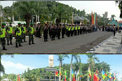 Ratusan Personil Dikerahkan Amankan Aksi May Day Depan Kantor Bupati Gresik
