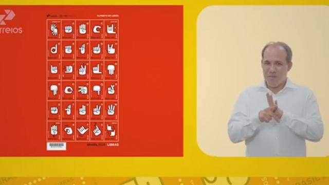 Correios lançam Emissão Especial Alfabeto Manual da Língua Brasileira de Sinais (Libras)