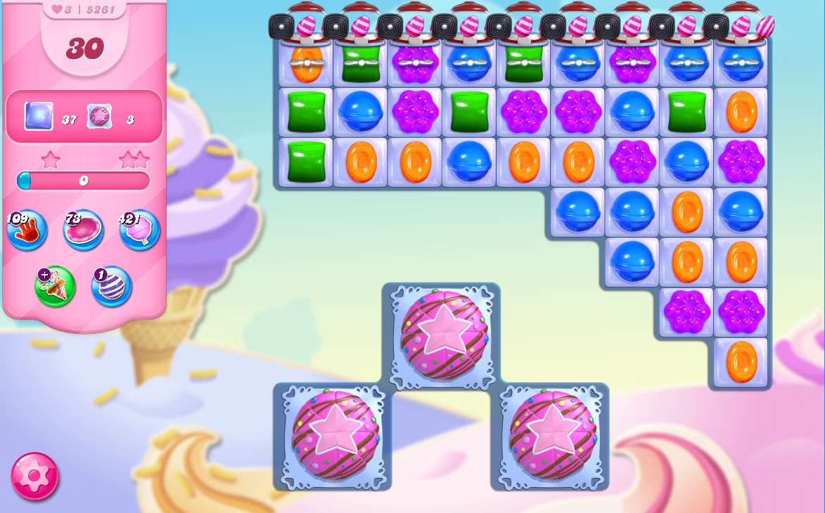 Candy Crush Saga level 5261