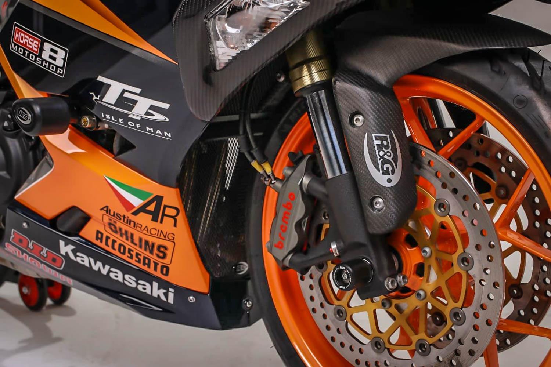 Totalitas tanpa batas, modifikasi Kawasaki New Ninja 250 ini habiskan dana setara satu unit moge
