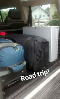 Road trip, luggage, baggage, santa barbara