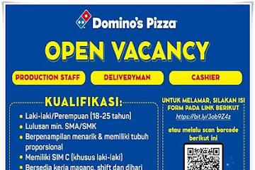 Lowongan Kerja Karyawan Domino's Pizza Bandung