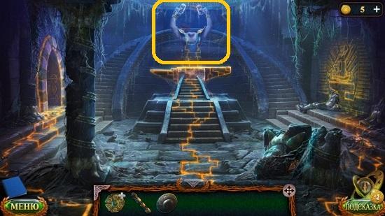 клинок на наковальни молотами кузнец делает в игре затерянные земли 6