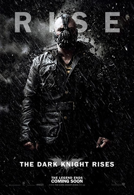 "The Dark Knight Rises ""RISE"" Character Movie Poster Set - Tom Hardy as Bane"