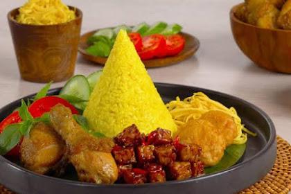 Ragam Acara Yang Cocok Menggunakan Nasi Tumpeng