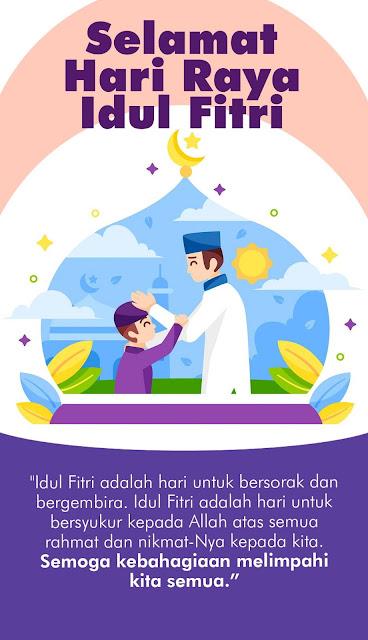 Gambar Ucapan Selamat Hari Raya Idul Fitri 1441 H