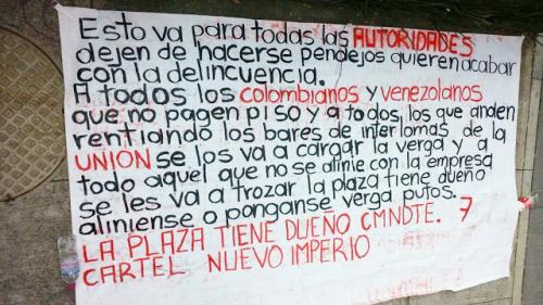 """""""La plaza ya tiene dueño"""" tras la caida de """"Los Dámaso"""" surge nuevo cartel llamado """"Cártel Nuevo Imperio"""""""