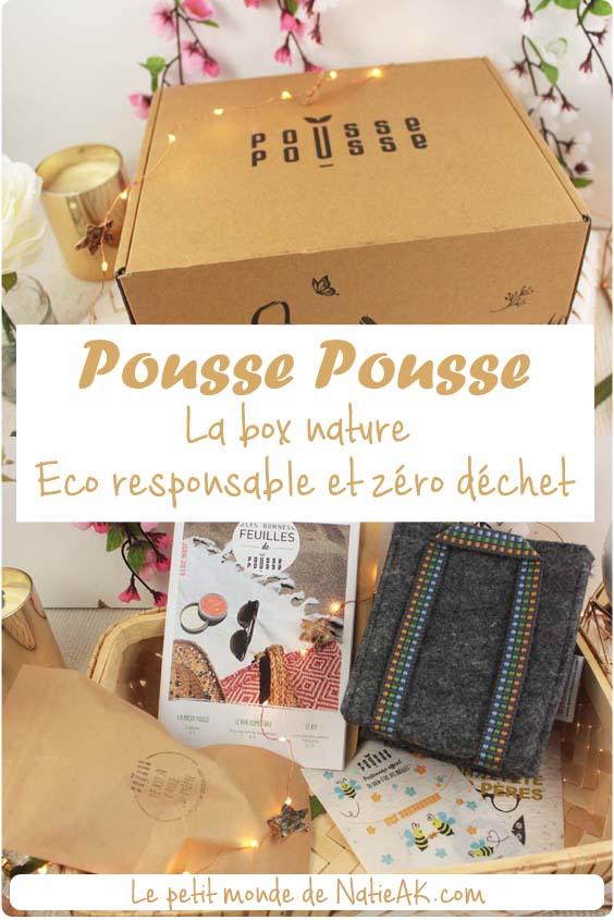avis sur la box nature et jardinage Pousse Pousse