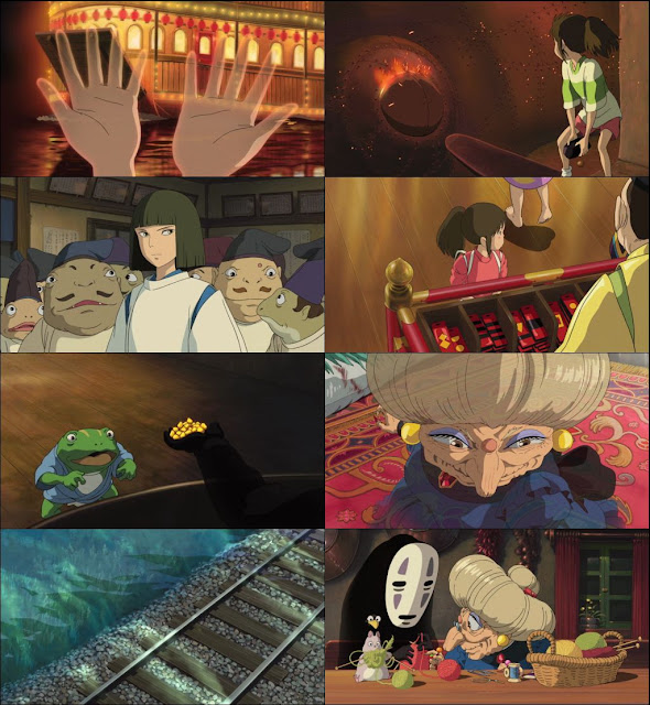 Spirited Away 2001 Dual Audio 720p BluRay