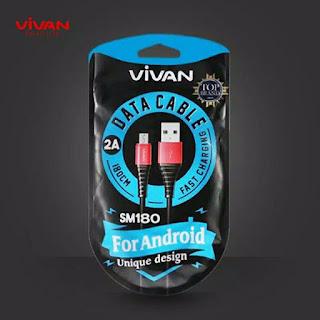 Kabel Data VIVAN Micro USB SM180