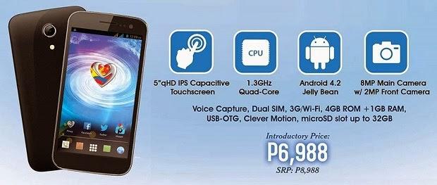 4994989a5 MyPhone Agua Cyclone  Specs