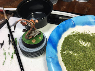 Skavenblight Scramblers alternate color Quick paint Basics basing