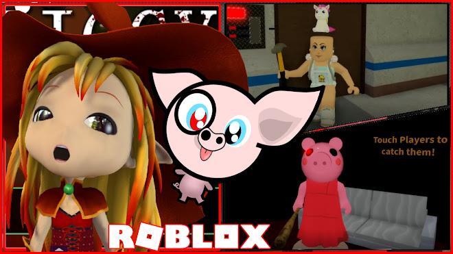 Roblox Piggy Gameplay! Bald Unicorn turns into Evil Peppa Pig!