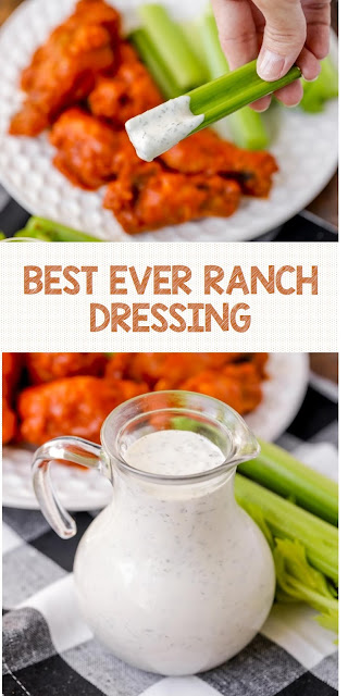 BEST EVER RANCH DRESSING