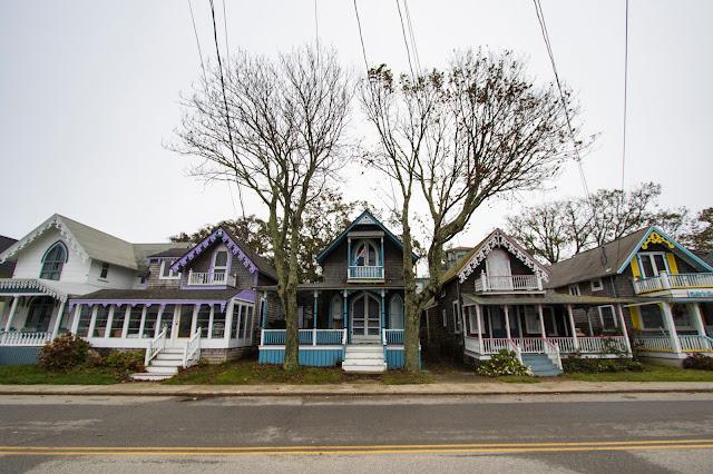 Case in legno su Siloam Ave ad Oak Bluffs-Martha's Vineyard