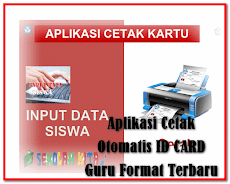 Aplikasi Cetak Otomatis ID CARD Guru Format Excel.Xls