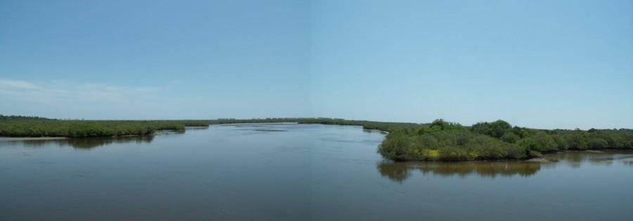 Rose Bay atravesada por el Halifax River