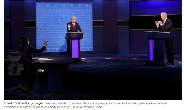 5 key paths from the final presidential debate