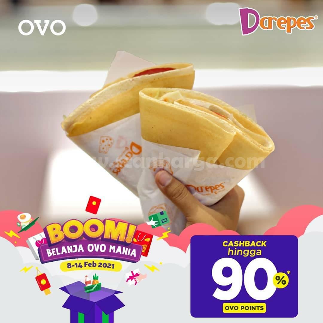 DCREPES Promo BOOM Belanja OVO Mania! CASHBACK 90% dengan OVO Points