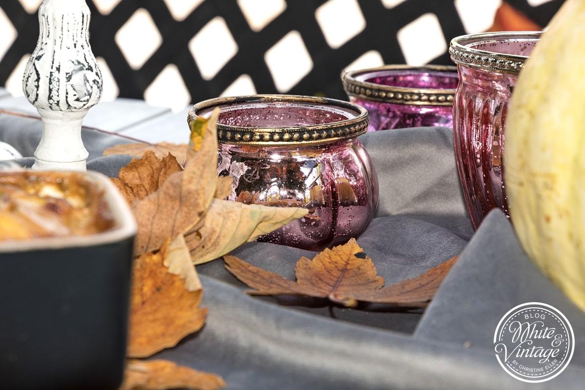 herbstliche Tischdeko selber machen