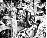Tenth plague of Egypt, death of the firstborn. Ex. 12: 29-31.