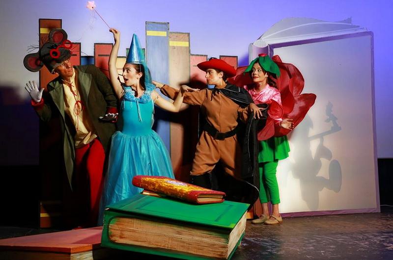 Η παιδική παράσταση «Ο Θησαυρός του Βιβλιοπόντικα» στην Αλεξανδρούπολη