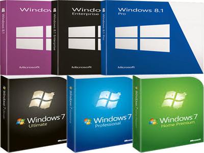 تحميل جميع نسخة ويندوز 781 فى اسطوانة واحدة بثلاث لغات Ar
