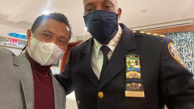 Pastikan Umat Islam Aman Selama Ramadhan, Kepala Polisi New York Temui Imam Shamsi Ali