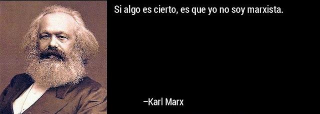 Karl Marx no es marxista