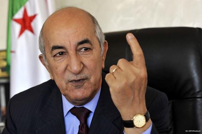 Presidente argelino: ''El pueblo saharaui debe tener derecho a la autodeterminación y no hay otra solución.''