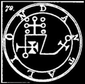 dantalion, goetia, daemon, sigilo, ocultismo, demonologia