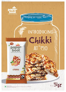 Paper Boat Introduces Chikki Stays true to its brand promise of Food and Memories