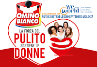 Logo Omino Bianco ''La forza del pulito sostiene le donne'': vinci 100 Gift card Idea Shopping e non solo