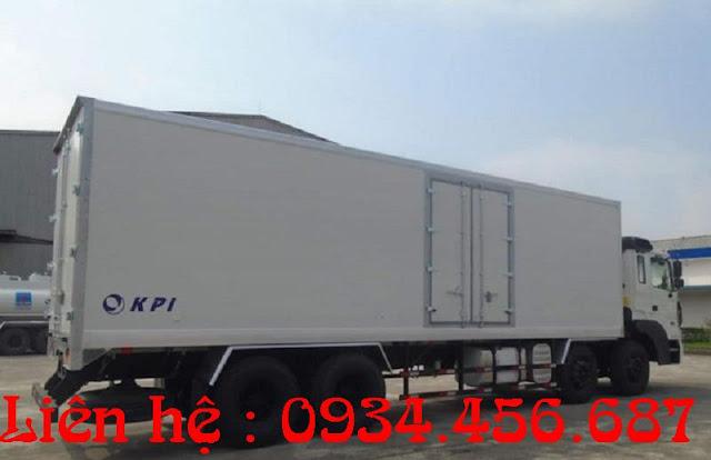 Hyundai 18 tấn thùng đông lạnh