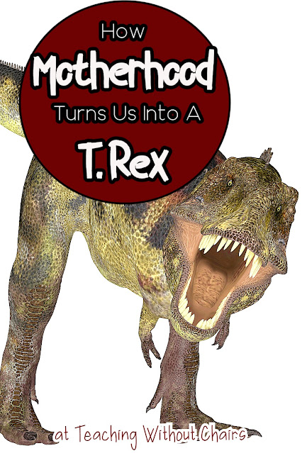 I am basically a T. Rex