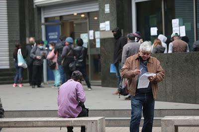 Desempleo bordearía el 20%: Más de 3 millones de trabajadores cesantes