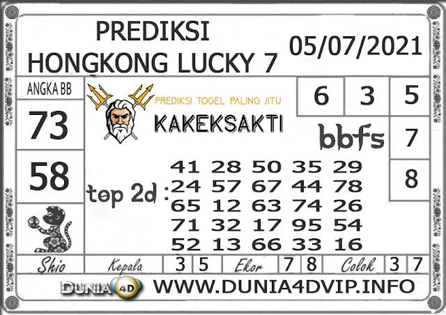 Prediksi Togel HONGKONG LUCKY 7 DUNIA4D 05 JULI 2021