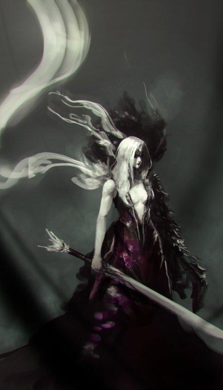 Jeff Chen artstation deviantart arte ilustrações fantasia games