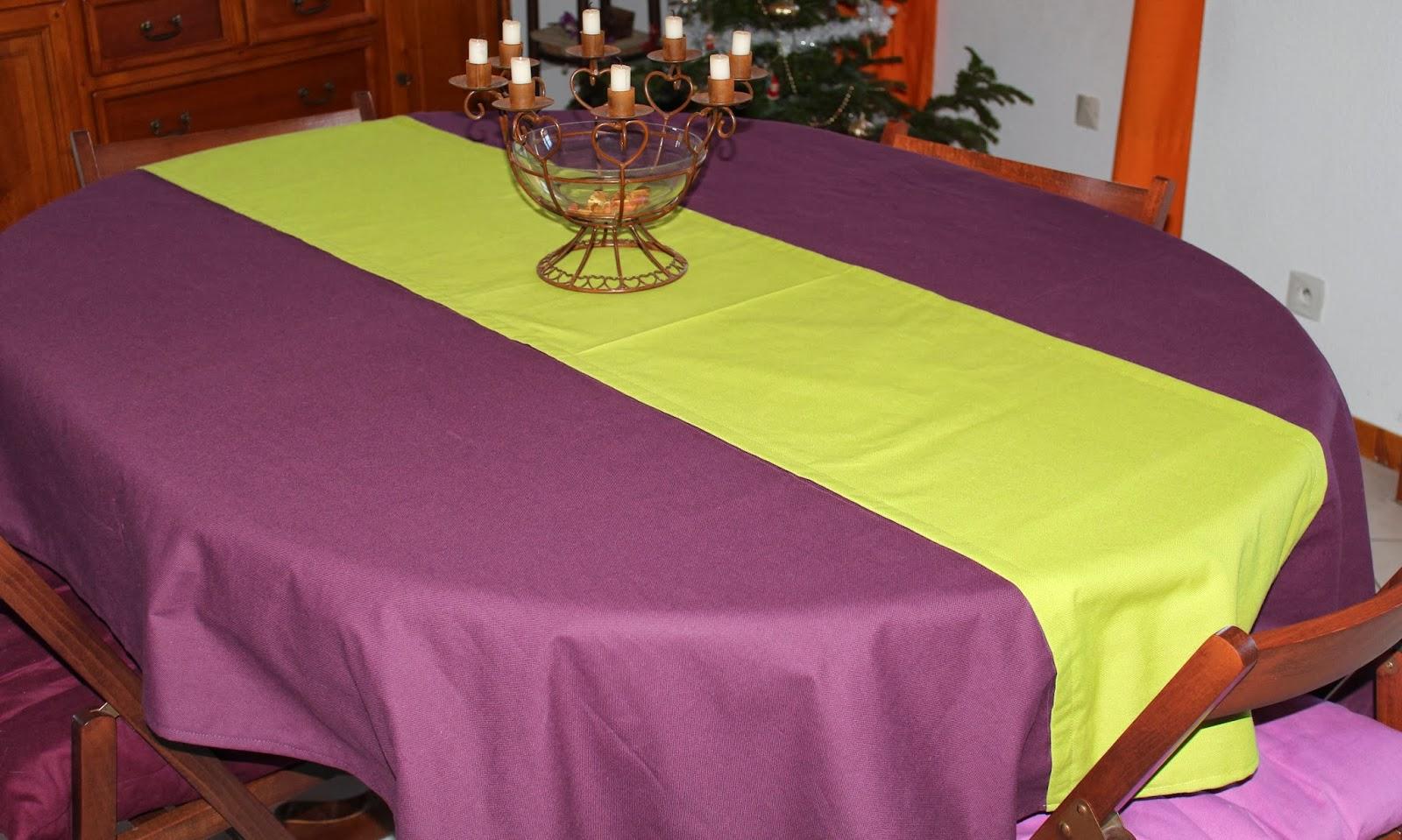 nappe violette. Black Bedroom Furniture Sets. Home Design Ideas