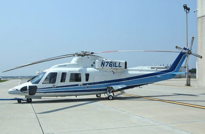 State of Illinois N76ILL S-76 Helicopter