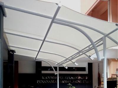 harga canopy kain tenda membrane 2018