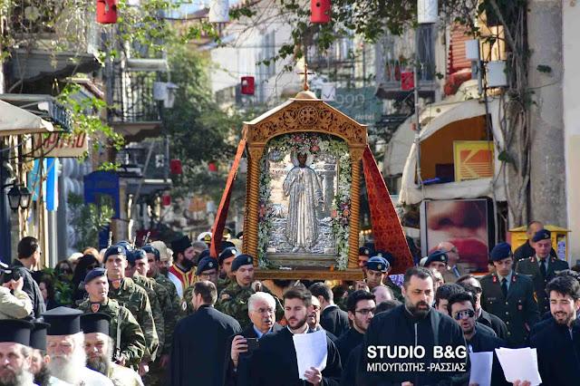 Το Ναύπλιο γιορτάζει τον Πολιούχο του Άγιο Αναστάσιο (βίντεο)