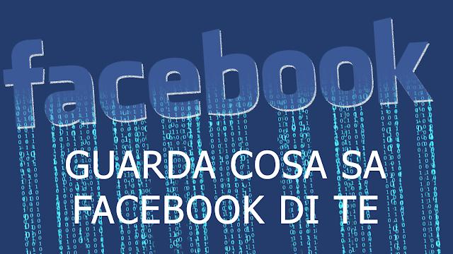 Facebook, ecco cosa sa di te