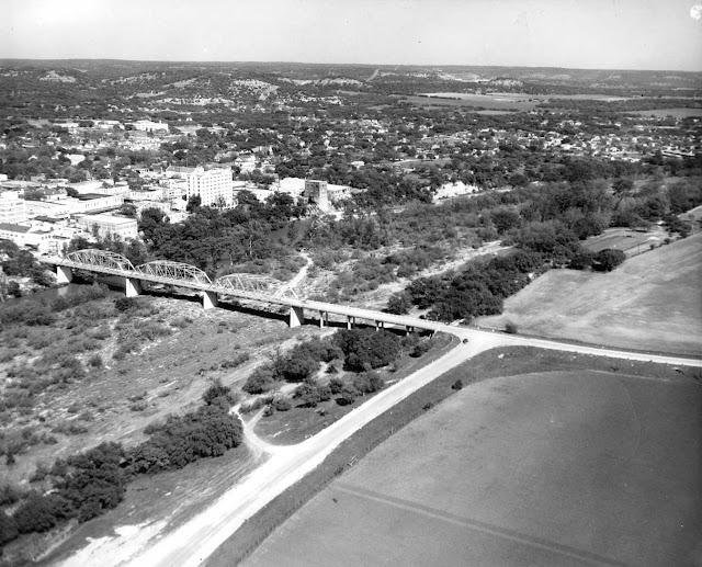 Louise Hays Park site Kerrville Texas 1950