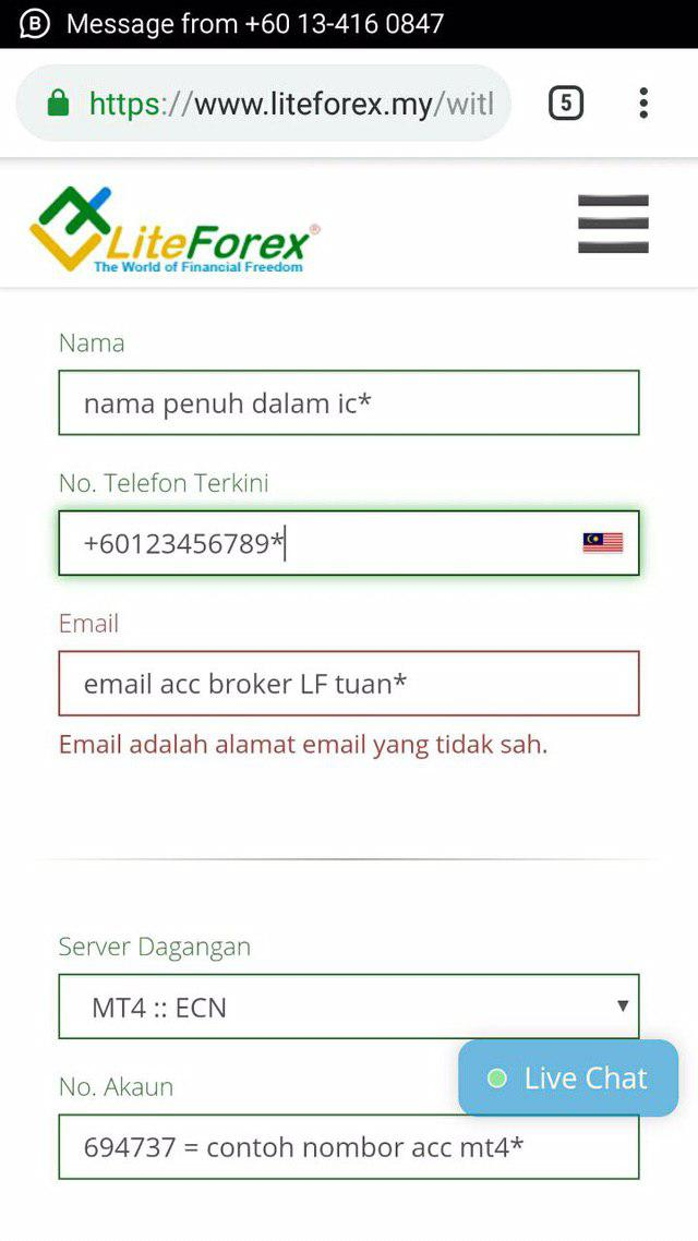 Matawang | Perdagangan — LiteForex