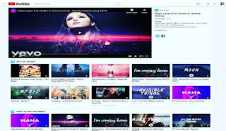 YoutubeThemes Video Blogger Template FREE