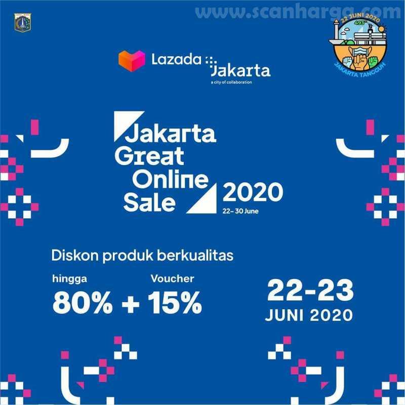 Promo Lazada Jakarta Great Online Sale 2020