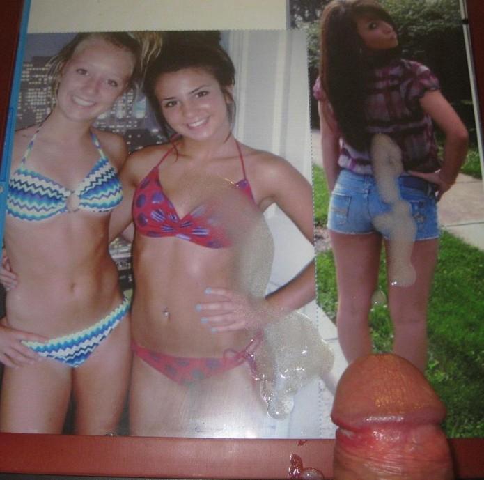 Cum my daughters bikini