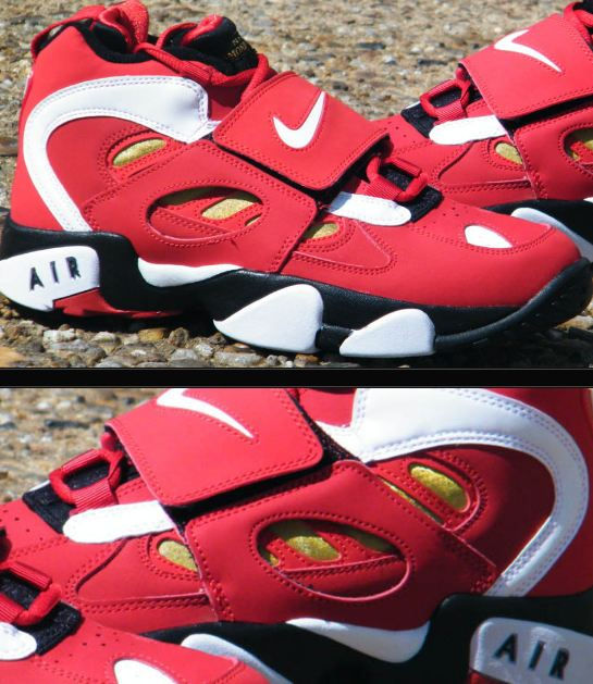 b7d1ab086cbb Here is new images Via  Rock City Kicks of the Nike Air Diamond Turf II  Varsity Red White-Metallic Gold Sneaker releasing 4 6